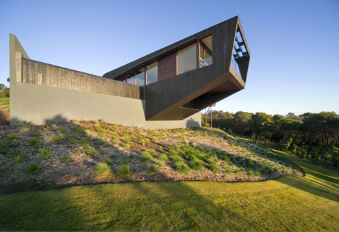 Cape Shank House in Australia by Jackson Clements Burrows Architects