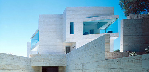 Madrid House in Spain by A-cero Architects