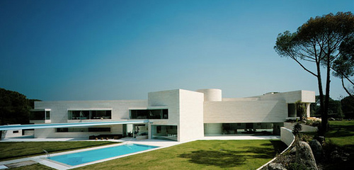 Madrid House in Spain by A cero Architects in architecture  Category