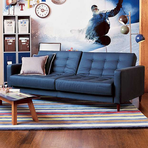 PB Teen Convertible Couch