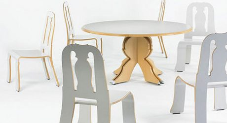 Queen Anne Dining Set by Robert Venturi