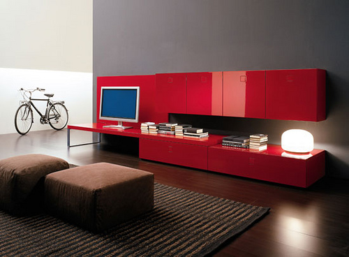 Obsessed with Red in home furnishings  Category