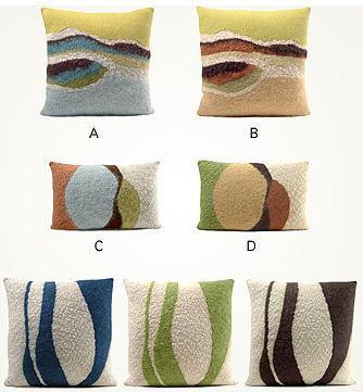 Pillows at Silho