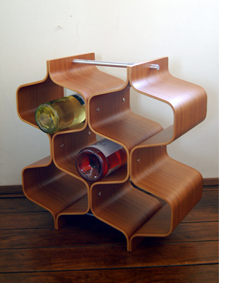 Plywood Wine Rack in main home furnishings  Category