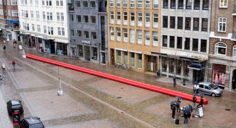 World's Longest Sofa