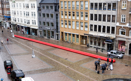 World's Longest Sofa