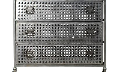Perforated Steel Dresser