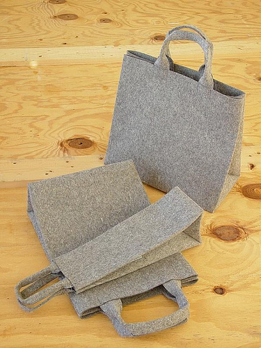 Illu Stration Felt Bags in home furnishings  Category