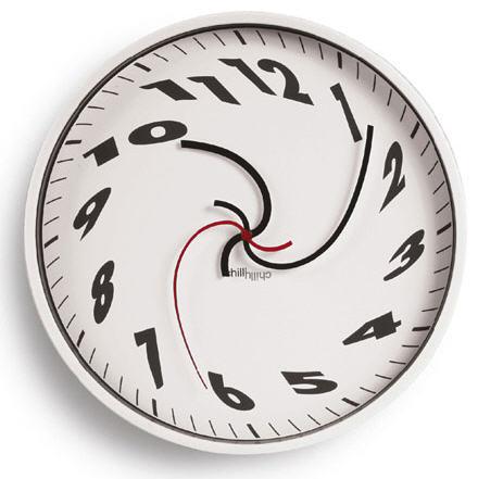 Whirled Clock