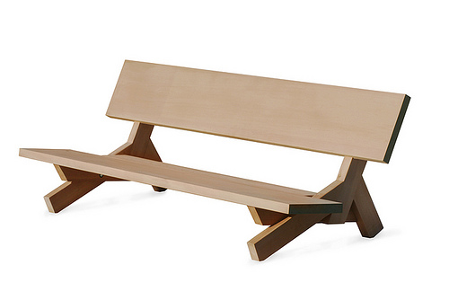 outside bench design