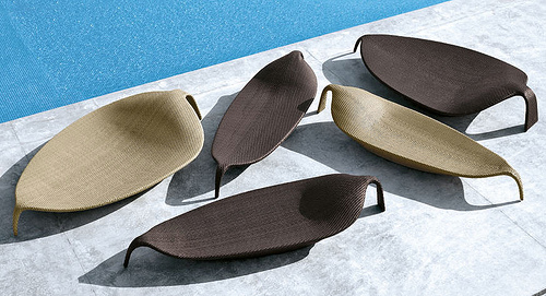 Leaf Chaise in main home furnishings  Category