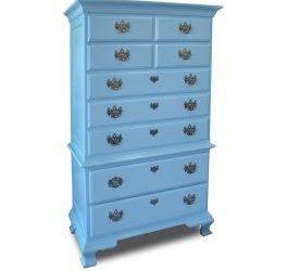Baby Blue Highboy