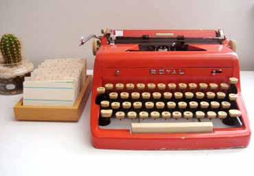 Refurbished Royal Typewriter - Three Potato Four
