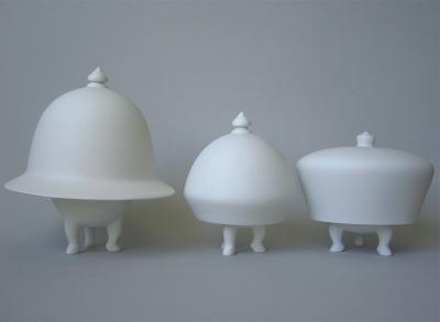 Three Mad Hatters by Jorine Oosterhoff