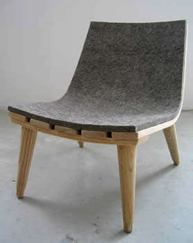 Felt Chair in main home furnishings  Category