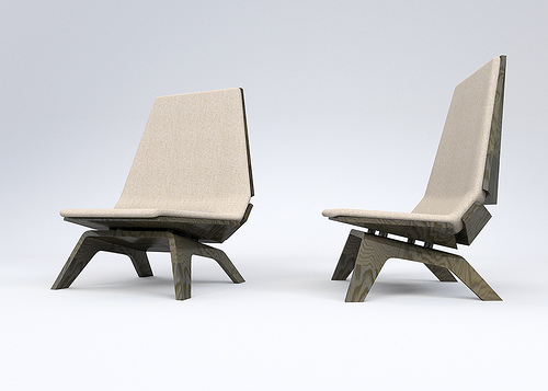 Triangulo Chair - Pieter Maes for Brastilo