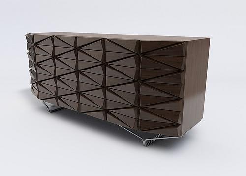 Cristal Cabinet - Pieter Maes for Brastilo
