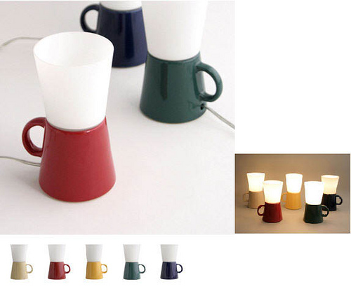 Mug Lamp - Ideaco