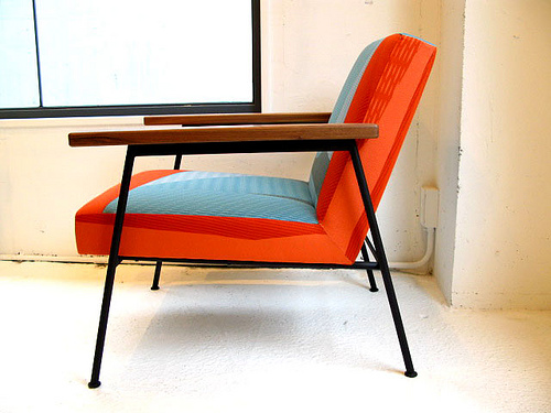 Iron Arm Chair - Cocca