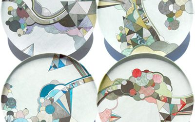 Melamine Plates from Poketo