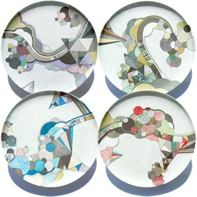 Melamine Plates from Poketo