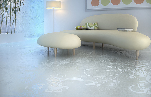 Concrete Art from Transparent House