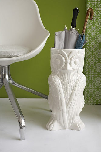 Owl Umbrella Stand - Burke Decor