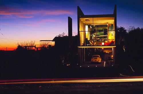 Burnette Residence in Arizona by Wendell Burnette Architects