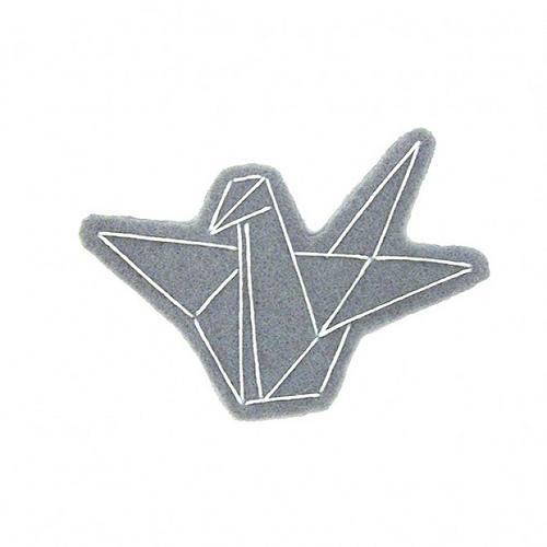 Paper Crane Brooch