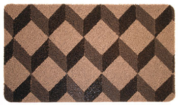 designer door mats designer door mat cube doormat with extra long doormat & Extra Long Doormat. Elegant Extra Long Doormat With Extra Long ... pezcame.com