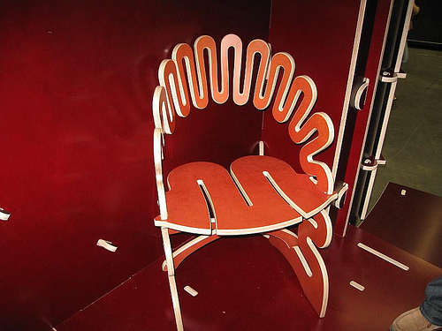 Chair by Gregg Fleishman