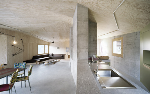 Concrete Home in Switzerland by AFGH in architecture  Category