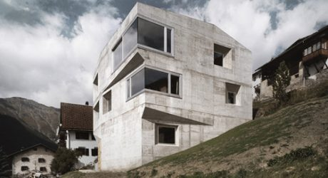 Concrete Home in Switzerland by AFGH