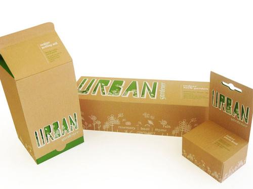 Urban Gardener Packaging Design