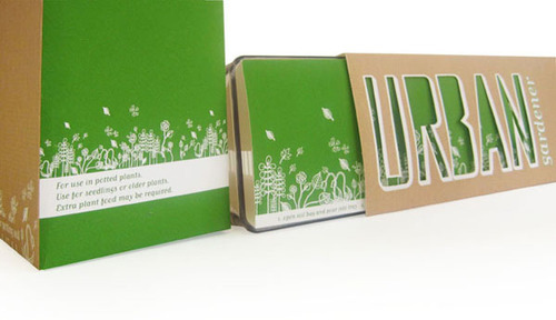 Urban Gardener Packaging Design in main art  Category
