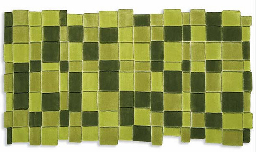 Squares rug by Marc Krusin