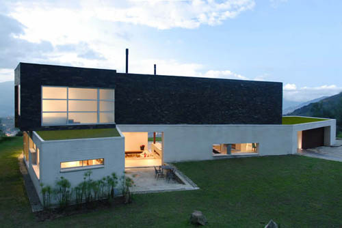 Serenos House in Colombia by Jaime Rendon Architects in architecture  Category
