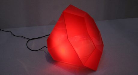 Blood Red Diamond Light