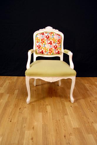 Numbers Chair- MetroSofa