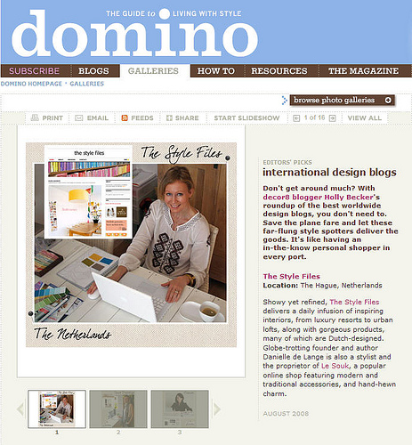 International Design Blogs in news events  Category