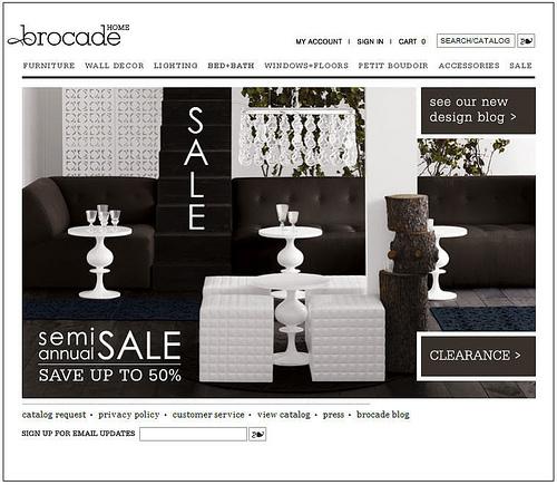 Sale Alert – Brocade Home