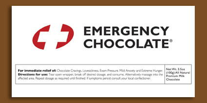 Emergency Chocolate in art  Category