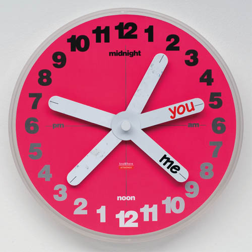 KnoWhere You & Me Clock