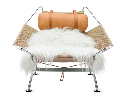 flag halyard chair c1950 by hans wegner