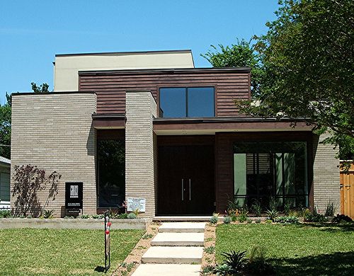 Mid-Century Inspired Custom Home in Texas by Greico Designers