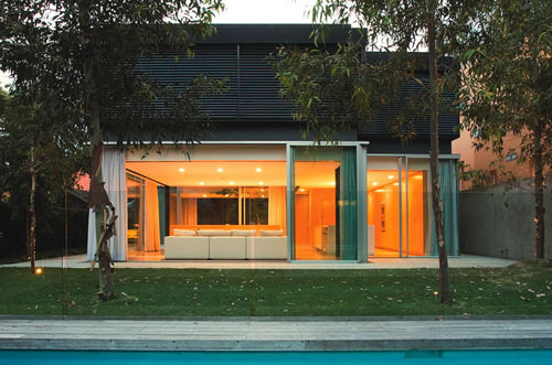 Szirtes House in Australia by Chenchow Little Architects in architecture  Category