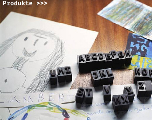 Letterpress Chocolates in main art  Category