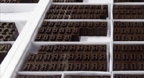 Letterpress Chocolates