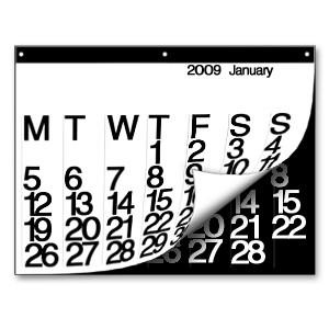 2009 Stendig Calendar in home furnishings art  Category