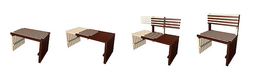 Kontrast Table Bench